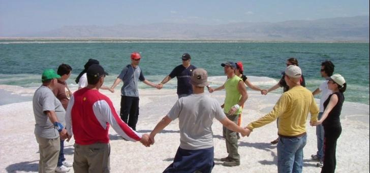 גיבוש בים המלח